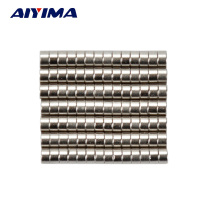 AIYIMA 100pcs N50 Dia 2x1mm Ultra Small 2*1mm Rare Earth Neodymium Magnets Art Craft Magnetite 2mm*1mm For Teaching Aids