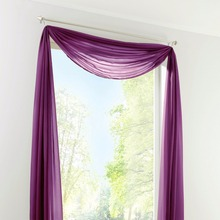 New Sheer Voile Window Scarf Curtains  Fashion European curtain valance  1PCS