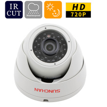 SunChan High Quality AHD Camera Color CMOS 1200TVL 24 IR LEDs Night Vision Security Camera Indoor CCTV Camera