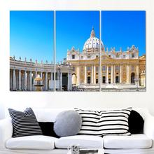 Italy City Canvas Pictures Modern Wall Painting High Quality  Canvas Art City scenery Art Wall Picture For Living Room