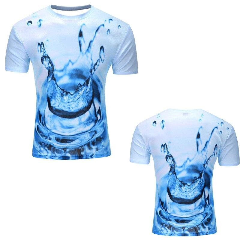 12 Color 3d print Lightning cat t shirt 14
