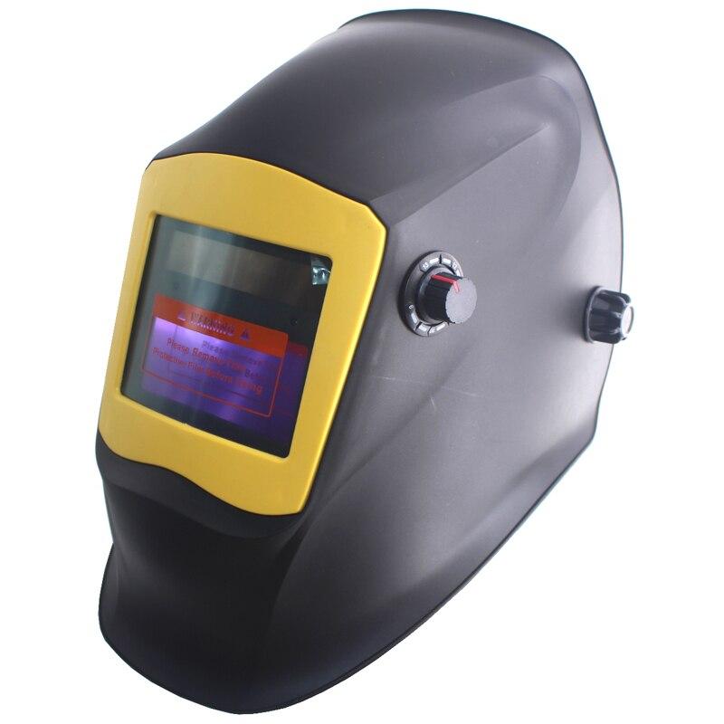 Hot  Li battery +Solar power auto darkening welding mask/helmet/filter for  TIG MMA MAG MT welding equipment and  plasma cutter<br>
