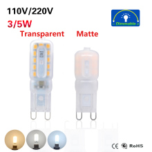 Mini LED G9 Light 3W 5W SMD2835 Bombillas LED G9 LED Bulb 220V 230V 240V Ampoule Led Chandelier Lights Lamp(China)