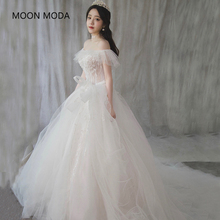 Buy long half sleeve muslim lace wedding dress high 2017 bride simple bridal gown real photo wedding-dress vestido de noiva for $78.12 in AliExpress store