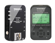 Yongnuo YN-622C + YN-622C-TX  KIT Wireless TTL HSS Flash Trigger for Canon 1200D 1100D 1000D 800D 750D 650D 600D 550D 500D 5D II
