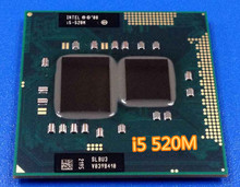Original Intel core Processor I5 520M  i5 520M 3M Cache 2.4 GHz Laptop Notebook Cpu Processor I5-520M  free shipping