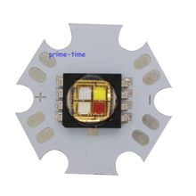 10W Cree XLamp MC-E MCE RGBW RGB + White LED Emitter Lamp Light 4Led Star PCB Board Free Shipping