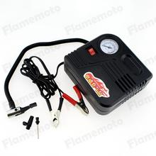 Motorcycle Car Accessories Motor Bike Compact Mini Tyre Air Compressor Inflator Pump