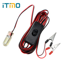 ITimo 48 LEDs Warm White Fishing Lighting Boat  Cool White Underwater Night Lights Attract Fish