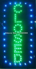 "Closed Vertical Shop LED 19x10"" Sign Bright Store Neon Bar Close Animated Light Open Mart(China)"