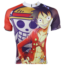 Men Cycling Jersey Anime One Piece Luffy Third Generation Cycling Clothing Men Bike Short Sleeve Cycling Jersey X139(China)