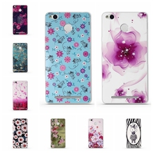 3D TPU Soft Cases for Coque for Xiaomi Redmi 3x Cases luxury Mobile Phone Back Cover Silicon Phone Case for Redmi 3x Cases