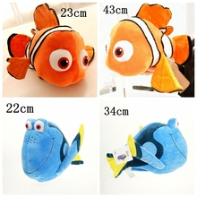 Cartoon Finding Nemo plush doll Dory fish Stuffed Animal Soft Plush Toy Plush Doll for baby gift(China)