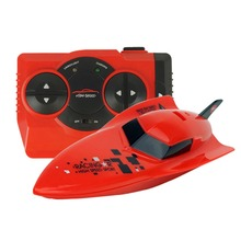 RC water stunt motorboat children's toys 2.4G mini remote control boat children gifts(China)
