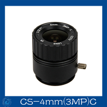 cctv camera lens 4mm Fixed Iris lens, 1/2.7 cs Mount  Fixed F1.6  for Security Camera.CS-4mm(3MP)C