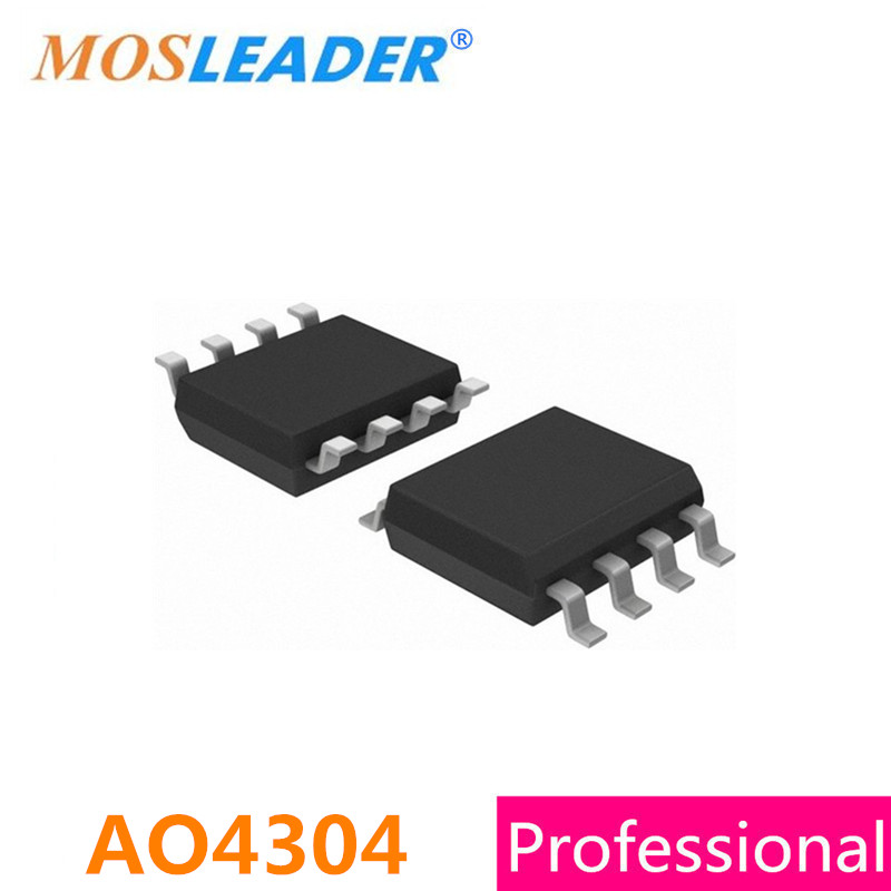 Mosfet SOP8 AO4304 200PCS 500PCS 1000PCS 30V 18A N-Channel High quality<br>