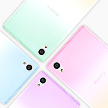 Nephy Case For Sony Z5 E6603 E6653 E6683 E6633 Z 5 Dual Cover Mobile Cell Phone Skin TPU Silicone Ultrathin Transparent Fundas