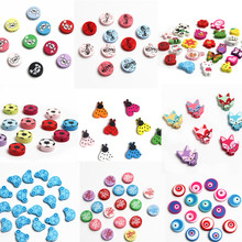 Lovely Variety Style Wooden Beads Spacer Beading Wood Beads Jewellery Findings Toys For Baby DIY Crafts Kids Toys Pacifier Clip