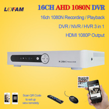 LOFAM home video DVR Recorder AHD 1080N 720P 16CH AHD-NH DVR 16 Channel 3G Wifi AHD DVR 16CH Hybrid NVR DVR Recorder ONVIF 16CH