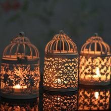 Decorative Moroccan Lantern Votive Candle Holder Hanging Lantern Vintage Candlesticks Home Decoration Lantern P15
