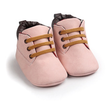 0-18M Soft Baby girls boys shoes toddler infant newborn boy girl crib moccasins shoes bebes pink shoes Pu first walker(China)