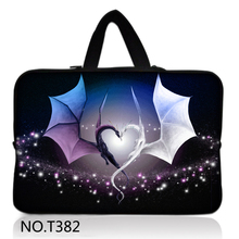 Wings Pop Fashion Laptop Sleeve Case 8,10,11,12,13,14,15inch Bag For ipad Tablet,Notebook,For MacBook,Wholesale(China)