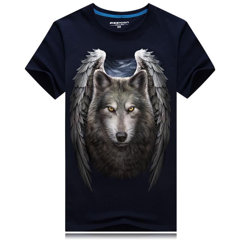 HTB1UoqhRpXXXXbBaVXXq6xXFXXXo - 2017 Summer New 3D T Shirt Men's Short-sleeve Fashion O-Neck animal T-shirt Printed Casual Navy blue Male Shirts Plus size 6XL