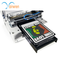 High resolution T shirt DTG printing machine a3 size t shirt printer with high speed