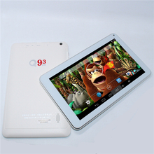 With a gift Android 4.4 tablet 9 inch+Quad core+dual camera+512MB/8GB+3500mAh+Wifi +bluetooth+HDMI+G-Sensor ATM7029B tablet pc