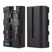 1Pcs 7.2V 2600mah NP-F550 NP-F570 Rechargeable Digital Camera Batteria Pack For Sony NP-F550 NP-F570 Battery