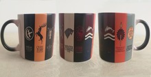 Game Of Thrones mugs house stark Daenerys Targaryen heat changing color mugs a song of ice and fire heat sensitive mug tea cups