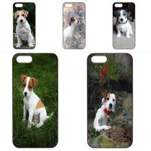Case Accessories For Samsung Galaxy S3 S4 S5 Mini S6 S7 S8 Edge Plus Note 2 3 4 5 J1 J5 J7 Jack Russel Terrier Sunglasses