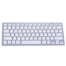 2016 Slim Bluetooth 3.0 Wireless 2.4GHz Keyboard for Apple iPad-1 1 2 3 4 Mac Computer PC Mac Tablets Laptops