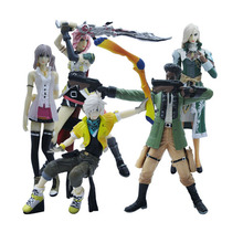 5 Pcs/lot Anime Final Fantasies Action figure Final of Fantasy Action & Toys Figure PVC collectible Model Toy AF103