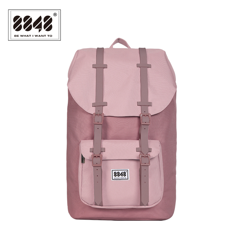 8848 Brand Women Backpack Female Travel Backpack Waterproof Material Large Capacity 20.6 L Shoulder Bag Popular Style111-006-003<br>