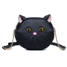Ameiliyar New Fashion Style Bags Famous Brand Cute Design Women Messenger Bag Ladies Handbags Cat Shoulder Bag High Quality