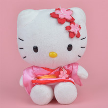 15cm Sakura Hello Kitty Plush Toy, Girl Baby Gift, Kids Doll Wholesale with Free Shipping