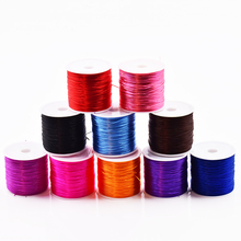 60M New Arrive Jewelry Production Crystal Elastic Bracelet Jewelry DIY accessories 10 Colors Handmade Braid Rope DIY Wax Rope(China)