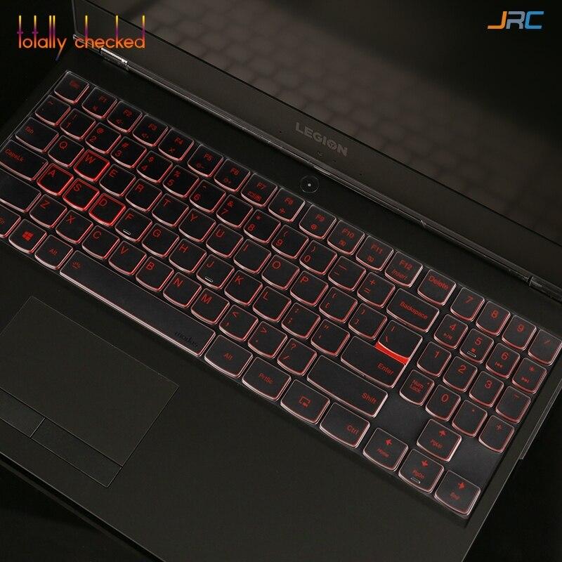 15 Inch Silicone Keyboard Cover Protective Skin for 15.6 Inch Lenovo Legion Y740 Y730 Y720 Y520 Y530 R720 R730 R720 15Ikbn Blue