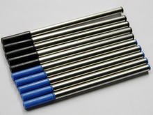 10pcs jinhao Top quality Blue & Black Ink refill For Roller Ball Pen refills(China)