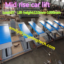 Cheap car lift auto lift with 1m lift height and 3 ton load capacity 2017