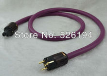 Free shipping 1.5meter Alpha PS-9 Power Cable audio power cord with P079E+C079 Schuko power plug(China)