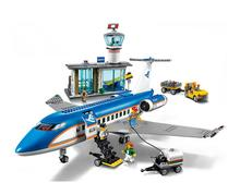 Lepin 02043 City Airplane Series Airport Terminal Station Set 60104 Building Blocks Bricks Toys For Children Christmas Gifts