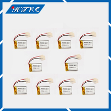 10 pcs Syma S107 S108 S109 S026 3.7 V 240 mAh 30c LiPo Battery For 6020 Syma S107 S108 S109 S026 rc Helicopter rc quadcopter(China)