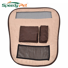 Dog Car Barrier Car Rear Seat Pet Storage Bags Breathable Mesh Put Dog toys Puppy Cups Cat Products Pet Products(China)