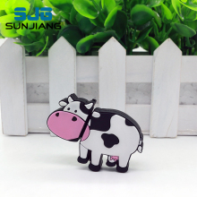 Mini Lovely Cow Usb Flash Drive PenDrive 8GB 16GB 32GB 64GB 4GB Memory Stick Milk Animal Pen Drive Gift Drive Download HOT SALE(China)