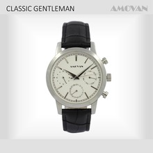 AMOVAN Stainless Business watch fashion classic wrist watch men water proof watch ASL4012SBM