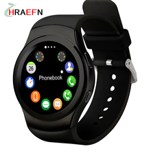 Hraefn G3 Smart Watch Heart Rate Monitor smartWatch support sim Montre Connecter IOS apple iphone Android samsung xiaomi huawei - HRAEFN 3C Store store