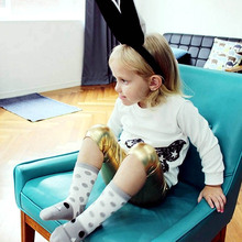 Toddler Baby Boy Girl High Sock Long Boot Socks Cartoon Design Brand New Leg Warmers For Newborns Infantile Kids Children