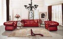 European-style Luxury Villa Living Room Sofa Sofa Leather Sofa Fabric French Neoclassical Living Room Furniture